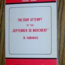 "The Coup Attempt of the ""September 30 Movement"" in Indonesia, Price Includes S&H"