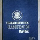 Standard Industrial Classification Manual 1967, Price Includes S&H