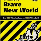 CliffsNotes on Huxley's Brave New World by Regina Higgins, Price Includes S&H