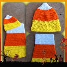 Candy Corn Cocoon and Hat - Costume