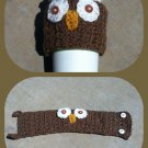 Owl Coffee Cup Cozy