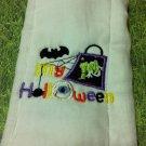 My 1st Halloween Burp Cloth