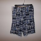 Boy's blue Plaid Shorts by Company 81, Size 12 reg.