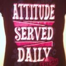 Hybrid Women GRAPHIC Art Tee-Shirt, black, short sleeves, Size M