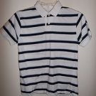 The ARIZONA Jean Company, Boys striped short sleeves polo style Shirt, Size M