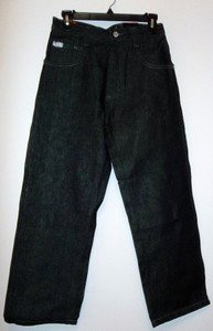 Boys black South Pole Black Jeans, Size 12