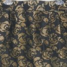 NWT - Ann Taylor LOFT, Short Black & Gold Skirt, Size 12