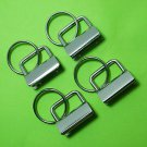 Key Fob Hardware with Ring - 200 sets - 1 inch wide