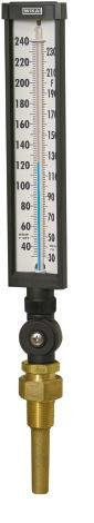 Wika Instrument Glass Thermometer 30-240F