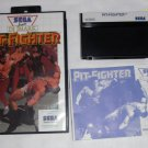 Pit Fighter - UK PAL Master System - CIB