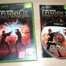 Star Wars Episode III Revenge of the Sith - Xbox UK PAL - Complete