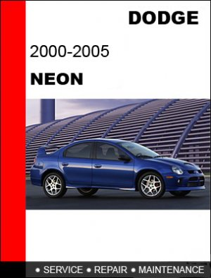 Dodge neon owners manual 2003