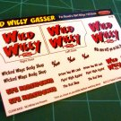 Wild Willy Decal Set for 41 Willys