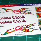 VooDoo Child 1966 Malibu SS Decal Set 1:24 Scale