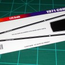 1971 Mercury Comet GT - Black 1:25 Scale