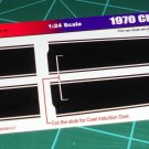 1970 Chevelle SS - Black