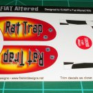 Rat Trap Fiat Altered Coupe Decal Set