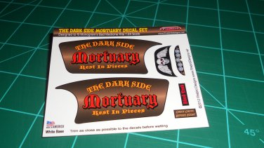 The Dark Side Mortuary Decal Set