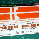 1969 Camaro Pace Car Decal Set