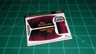 The Undertaker Decal Set Red