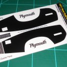 1971 HEMI Cuda Decal Set Black