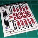 Badman 55' Decal Set A