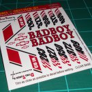 BadBoy 55' Decal Set B