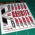 BadBoy 55' Decal Set A