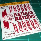 Badass 55' Decal Set C
