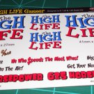 The HIGH Life Gasser Decal Set