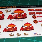 The Agitator Gasser Decal Set