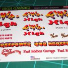 Flyin' HIGH Gasser Decal Set