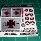 Whiskey Delivery 3 Decal Set for Monogram's Beer Wagon Kits