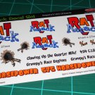 The Rat Attack Gasser Decal Set