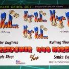 High Roller Gasser Decal Set