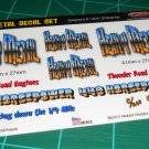 Heavy Metal Gasser Decal Set