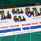 Cheap Thrills Gasser Decal Set