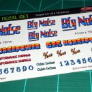 Big Noise Gasser Decal Set