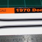 1970 Dodge Challenger R/T Decal Set Black