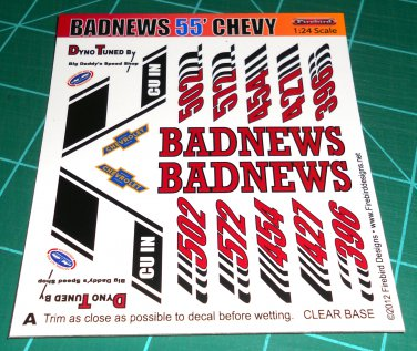 Badnews 55' Decal Set A