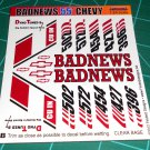 Badnews 55' Decal Set B