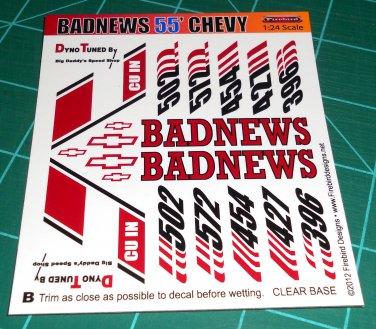 Badnews 55' Decal Set B