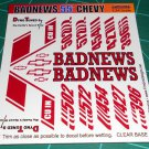 Badnews 55' Decal Set C
