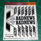 Badnews 55' Decal Set D