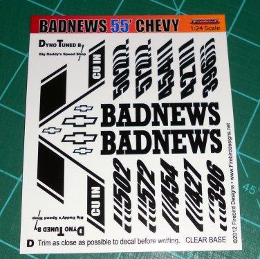 Badnews 55' Decal Set D