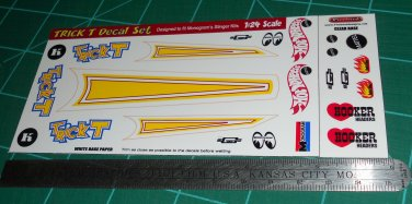 Trick T Decal Set D 1:24 Scale