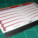 1970 Baracuda Hockey Sticks Decal Set 1:25 Scale Red