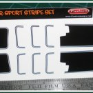 1969 Chevrolet Z28 Camaro Decal Set Black