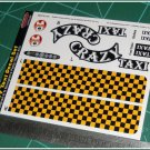 Crazy Taxi Decal Set for Monogram's Paddy Wagon Kits