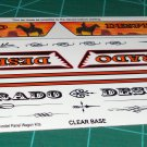 Desperado 1960 Chevy Panel Decal Set 1:24 Scale